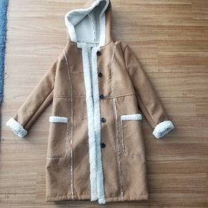 Suede Jacket by Forever 21
